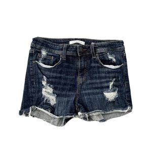 Eunina Lexi Denim Shorts NWOT